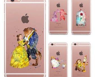 coque iphone 6 belle et la bete