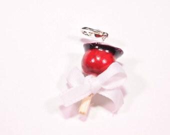 Cherry love Apple charms