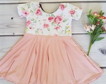 f566137e0f7 Floral baby dress