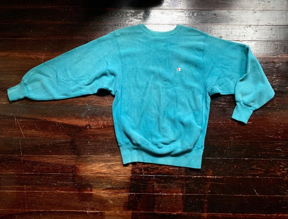 vintage 90s blank faded Champion reverse weave ath