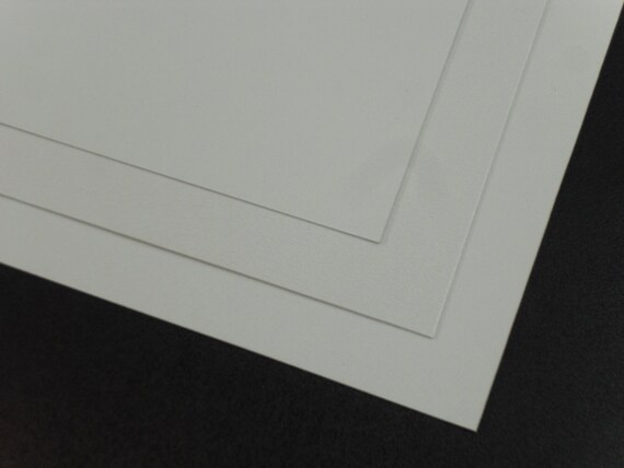 """WHITE POLYETHYLENE LDPE PLASTIC SHEETS 0.060/"""" X 12/"""" X 12/"""" VACUUM FORMING"""