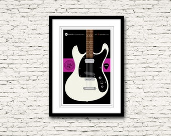 Guitars Signature Series Poster 4 Mosrite Ventures Mark II The Ramones