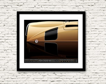 Drive Signature Series Poster 4 Chevrolet Corvette Stingray