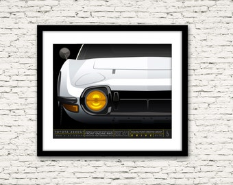 Drive Signature Series Poster 8 Toyota 2000GT