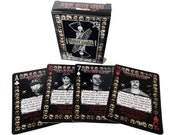 Serial Killer Playing Cards - 54 Different American Serial Killers Poker Set / Collectors Item