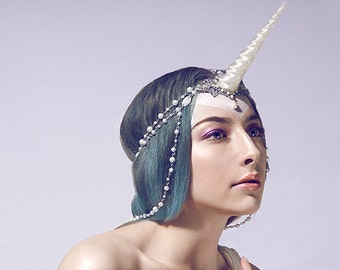 Unicorn jewelry headpiece made to order