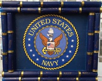 Shotgun Shell Navy Wall Decor