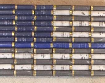 Shotgun Shell American Flag Thin Blue Line Law Enforcement Wall Decor