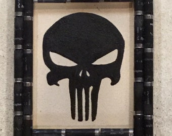 Shotgun Shell Punisher Wall Decor