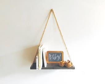Hanging Pallet Shelf, Rustic Decor, Beach Decor, Reclaimed Wood, Home Decor, Furniture, Book Shelf, Floating Shelf, Holiday Decor