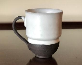12oz White Glazed Mug version 2