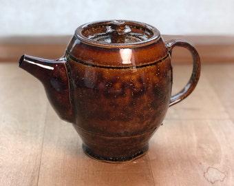 Amber Galaxy Teapot