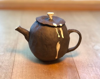 Chocolate Creamer or Small Teapot