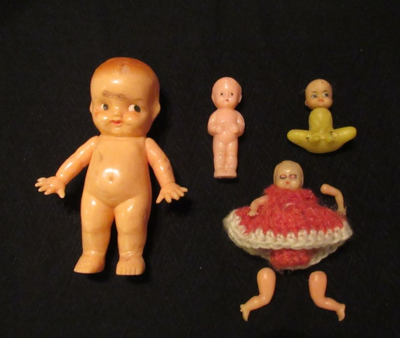 Vintage Dolls Hard Soft Plastic Doll Repair Restore Dressing Etsy