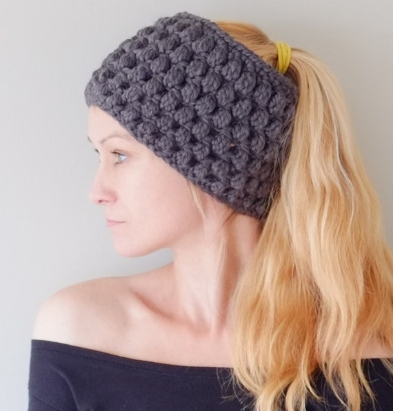 Ear Warmer Pattern Crochet Chunky Headband Pattern Pattern Etsy