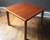 Mid century coffee table danish modern coffee table teak end table mid century modern table