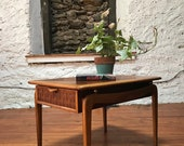 Mid century end table Lane end table mid century modern side table