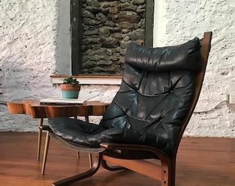 Lounge Stoel Retro.Vintage Modern Chair Etsy
