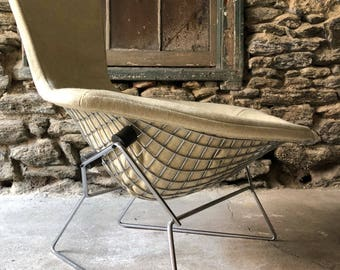 Mid Century Modern Lounge Chair Bertoia Bird Chair Knoll Diamond Chair Mid  Century Modern Chair