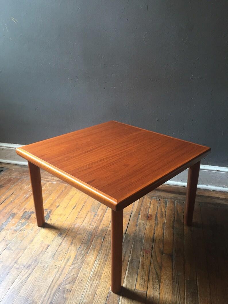 Mid Century Coffee Table Danish Modern Coffee Table Teak End Etsy