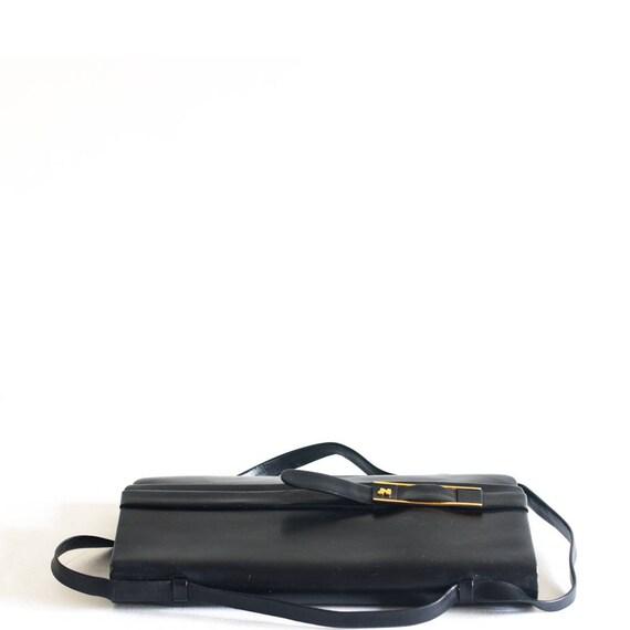 Vintage Nina Ricci black leather bag - image 5