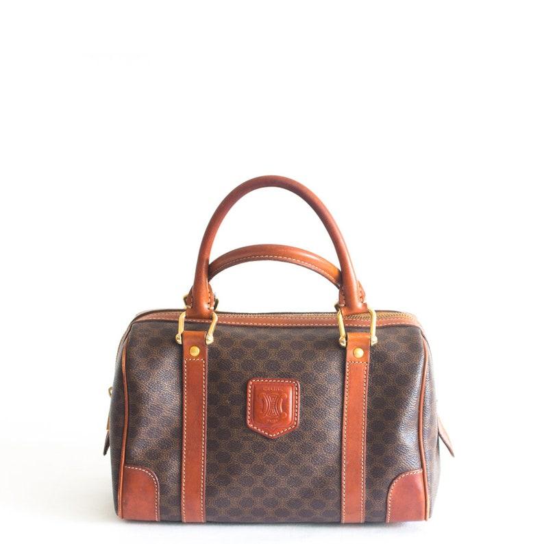 939cfcf06927 Vintage Celine macadam boston bag