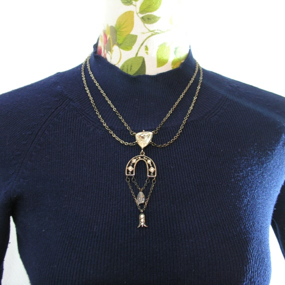 GIVENCHY - Gorgeous vintage Givenchy necklace / Gi