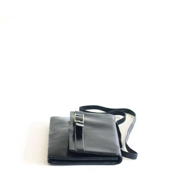 Vintage Nina Ricci black leather bag - image 4