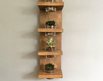 Wall Planter, Modern, Succulent, Indoor plant holder, herbs, apartment, Cactus, gift idea, house warming, wall decor, herbs