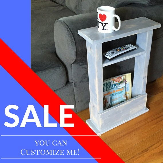 Skinny sofa table small table apartment side table gift etsy - Gifts for small apartments ...