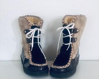 b8f70b46e029f 60s winter boots | Etsy