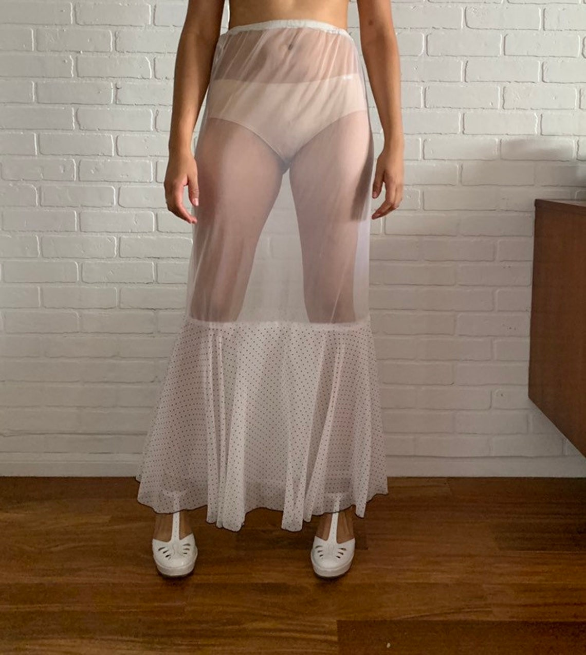 70s Tiered Maxi Dress interchangeable Midi Dress Ruffled Size