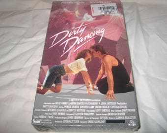 Vintage VHS Movie, Factory Sealed, Dirty Dancing, Home Video