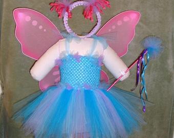 Blue Fairy Abby Cadabby Inspired Tutu Costume & Abby cadabby costume | Etsy