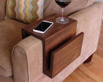Sofa Arm Table Etsy