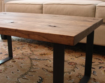 Awesome Industrial Rustic Coffee Table