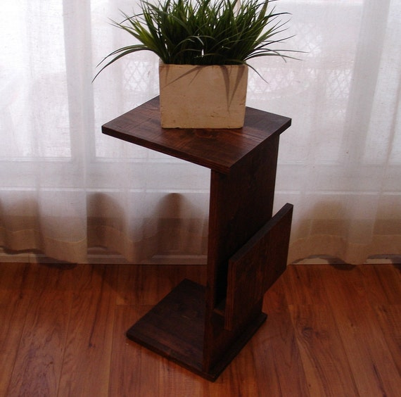Strange Sofa Chair Arm Rest Tray Table Stand With Side Storage Slot For Magazines Lamtechconsult Wood Chair Design Ideas Lamtechconsultcom