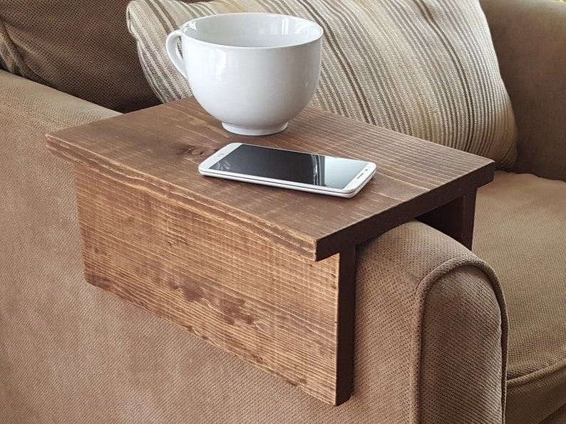 Simply Awesome Couch Sofa Arm Rest Wrap Tray Table For Tablet Etsy