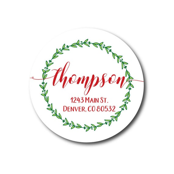 return address label christmas address labels christmas stickers