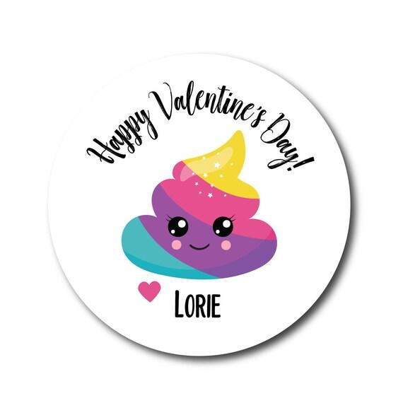 Valentines Day Stickers Valentine Sticker Kids Valentine Labels