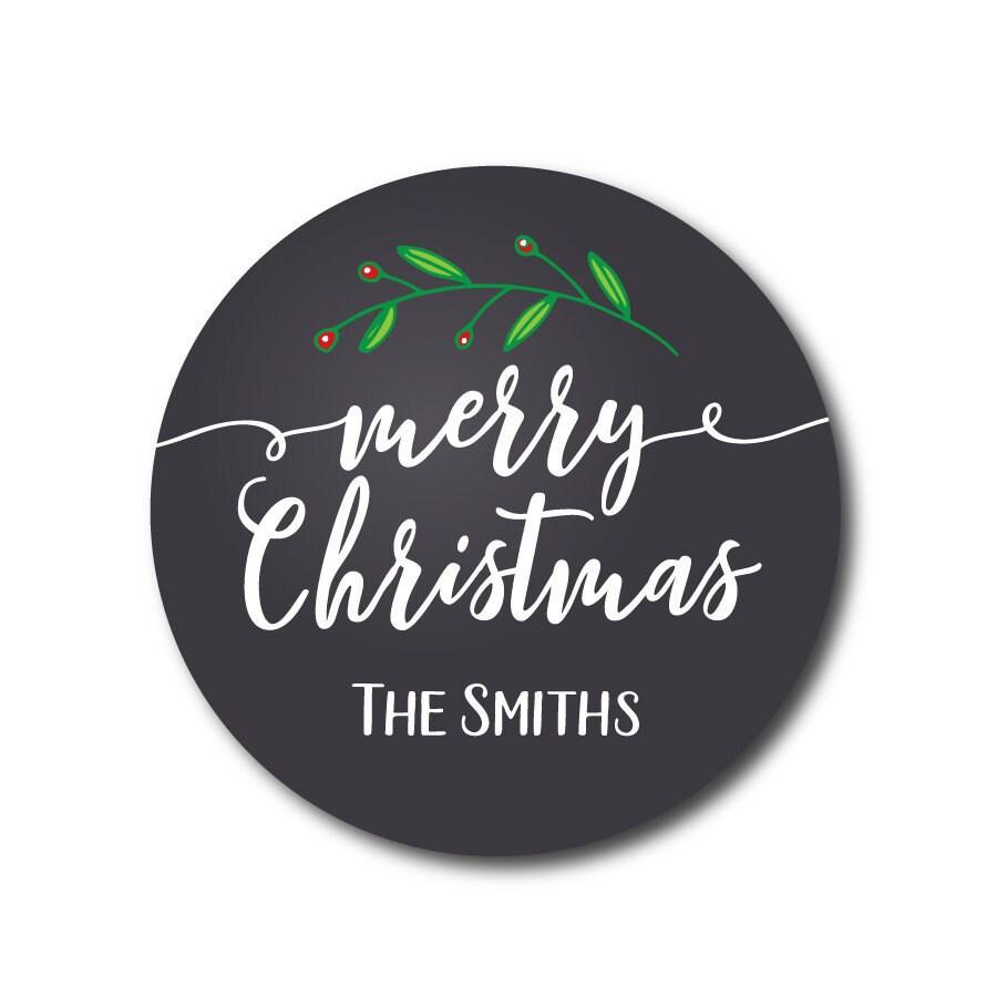 Weihnachten Aufkleber Weihnachten Geschenk Etiketten Urlaub | Etsy