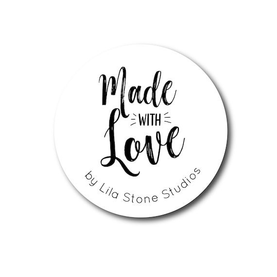 Made with love Labels//stickers