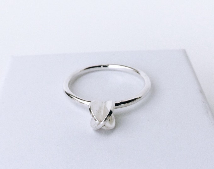 XX PEARL RING - made to order