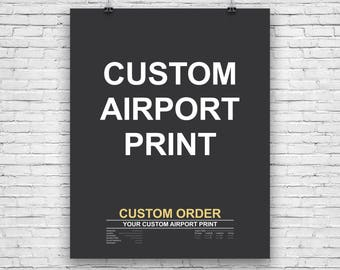 airport code etsy