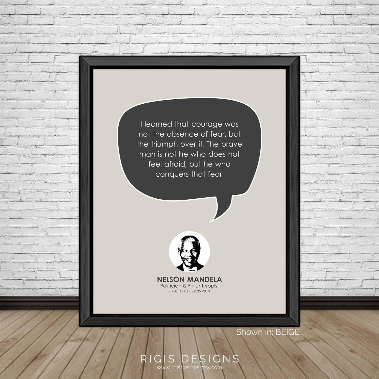 Nelson Mandela Quote, Politician & Philanthropist
