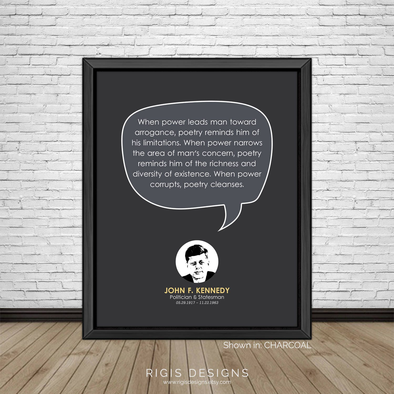 John F. Kennedy Quote, Politician & Statesman