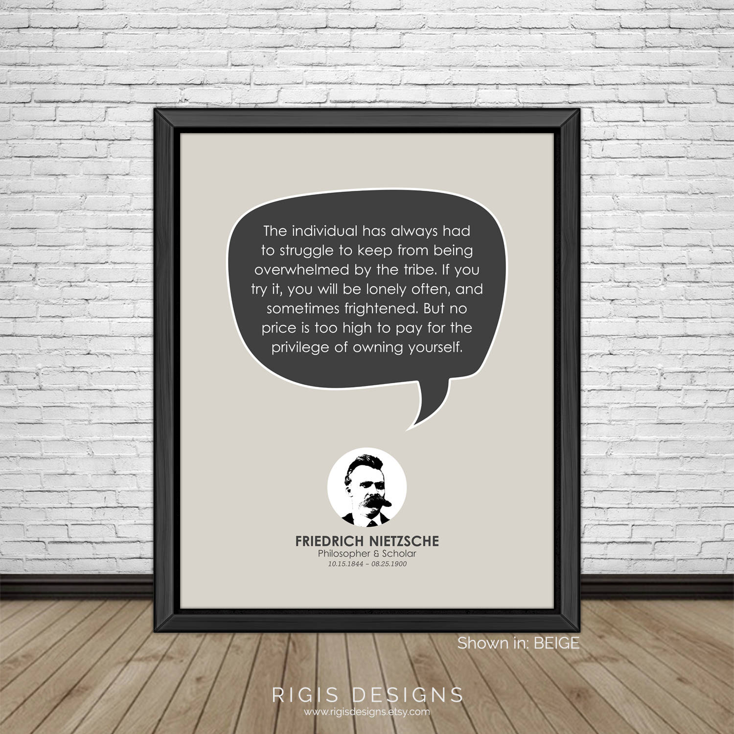 Friedrich Nietzsche Quote, Philosopher & Scholar