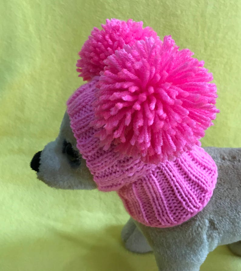 Pet Clothes Apparel Winter Snow Hat Pullover Hoodie Hat with image 0