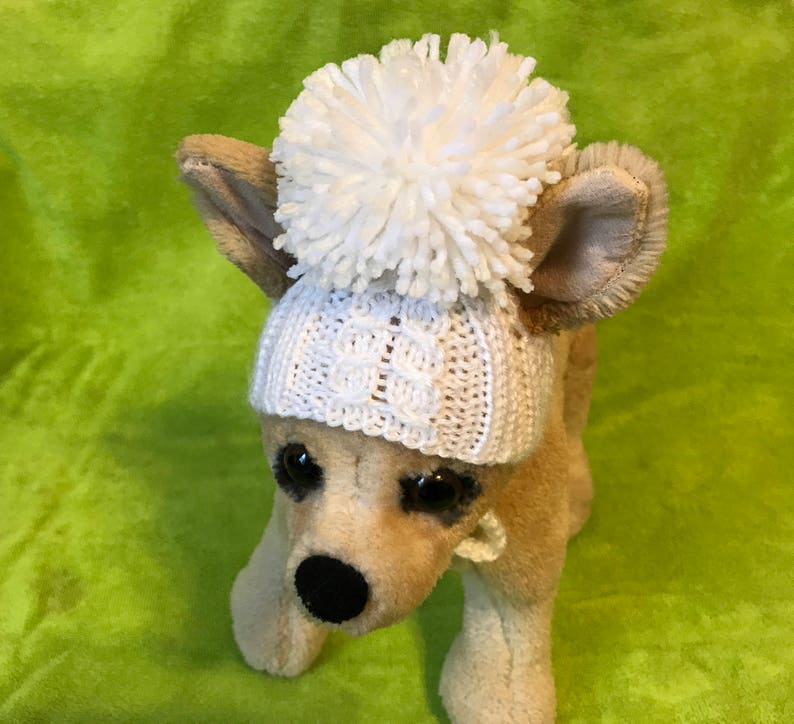 f22373209bd Pet Clothes Apparel Winter Outfit Dog Hat for Small Dogs