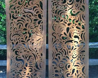 Swirl Privacy Screen
